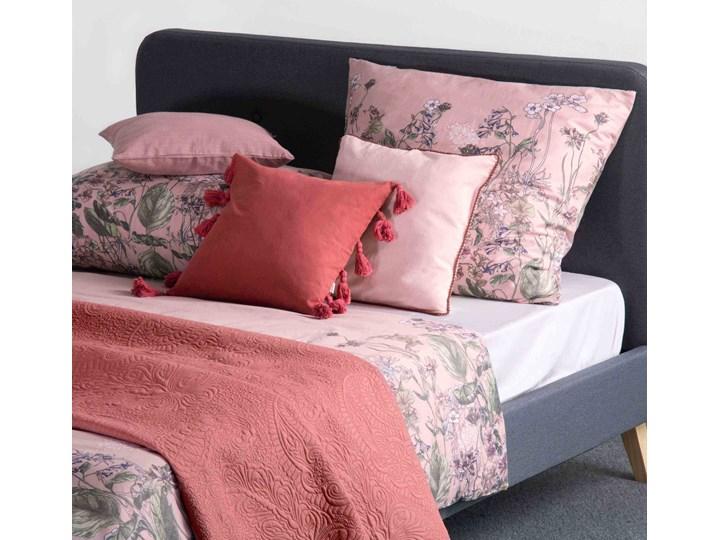 TANGIT Komplet pościeli satynowej w kwiaty 220x200 cm Pomieszczenie Pościel do sypialni Satyna 200x220 cm Kategoria Komplety pościeli