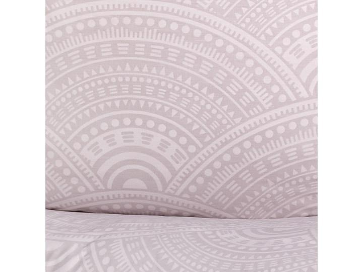 PEMO Komplet pościeli bawełnianej szarej 160x200 cm Bawełna Kategoria Komplety pościeli