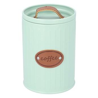 VELARI Pojemnik na kawę miętowy 11x16 cm