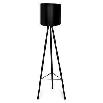 ROH Donica na nóżkach czarna L 14,5x15x93 cm