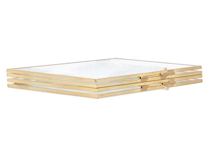 GRAZIA Ramka podwójna 20x15x1 cm Metal Rozmiar zdjęcia 15x20 cm