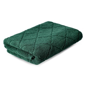 SAMINE Ręcznik z marokańską koniczyną zielony 70x130 cm