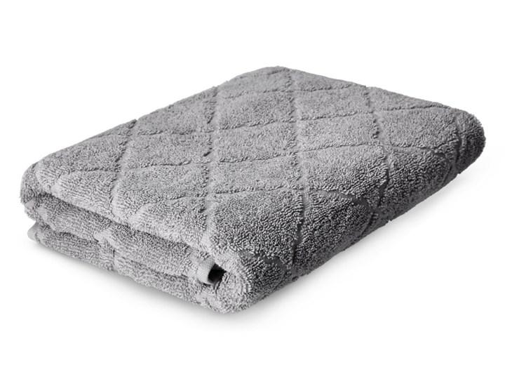 SAMINE Ręcznik z marokańską koniczyną szary 70x130 cm - Homla