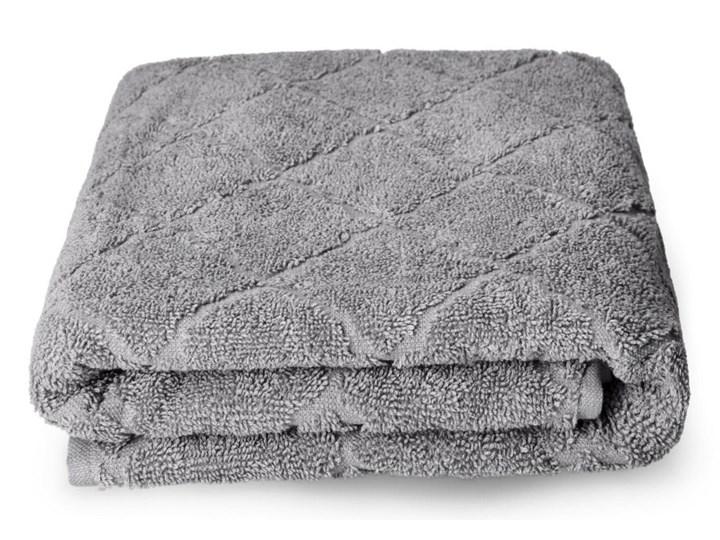 SAMINE Ręcznik z marokańską koniczyną szary 70x130 cm Kategoria Ręczniki