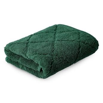 SAMINE Ręcznik z marokańską koniczyną zielony 50x90 cm