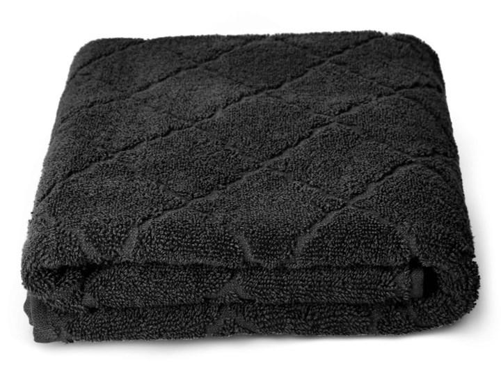SAMINE Ręcznik z marokańską koniczyną czarny 70x130 cm Kategoria Ręczniki