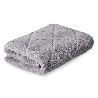 SAMINE Ręcznik z marokańską koniczyną szary 50x90 cm