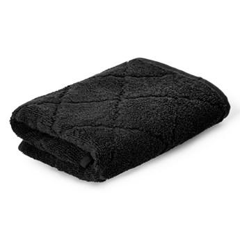 SAMINE Ręcznik z marokańską koniczyną czarny 50x90 cm