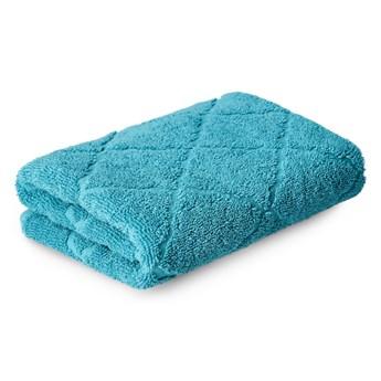 SAMINE Ręcznik z marokańską koniczyną turkusowy 50x90 cm