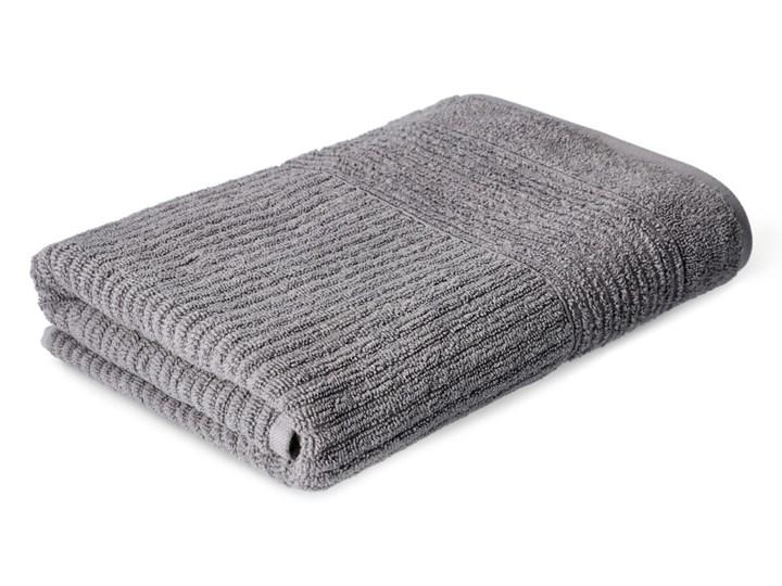 NALTIO Ręcznik w paski szary 70x130 cm - Homla