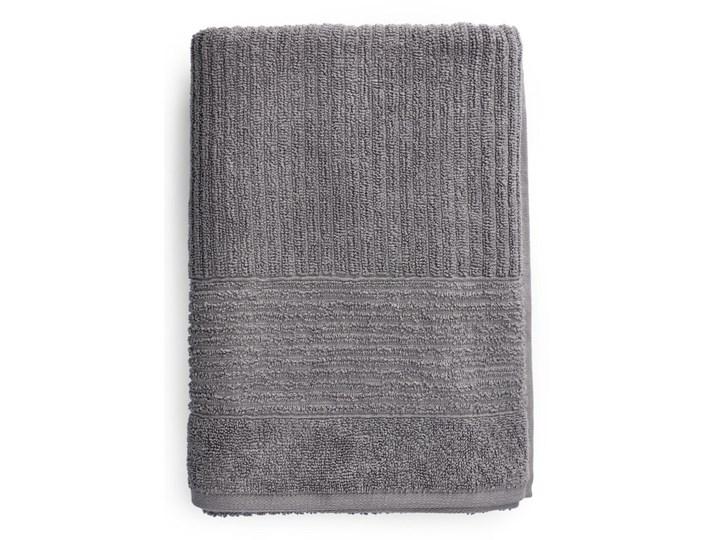 NALTIO Ręcznik w paski szary 70x130 cm Kategoria Ręczniki