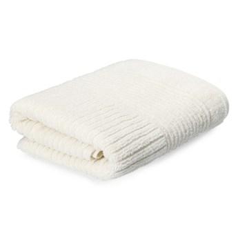 NALTIO Ręcznik w paski ecru 50x90 cm