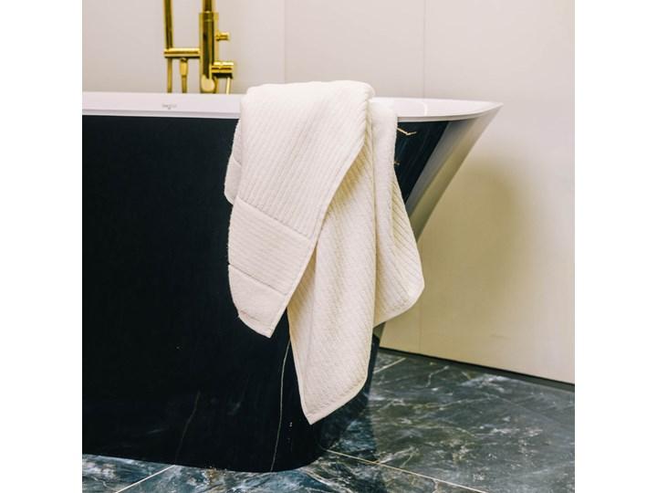 NALTIO Ręcznik w paski ecru 70x130 cm Kategoria Ręczniki