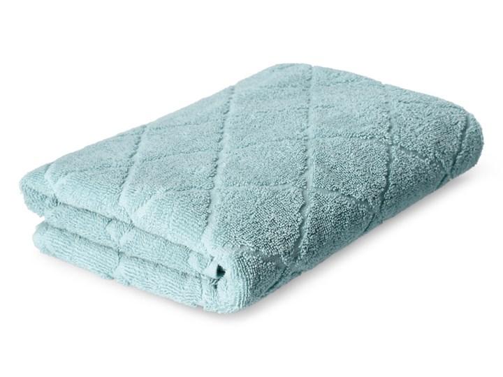 SAMINE Ręcznik z marokańską koniczyną miętowy 70x130 cm - Homla