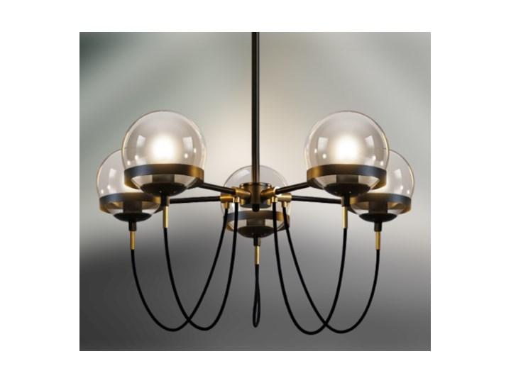 Octopus Medium- żyrandol 60cm Lampa inspirowana Metal Ilość źródeł światła 5 źródeł Stal Szkło Kategoria Lampy wiszące