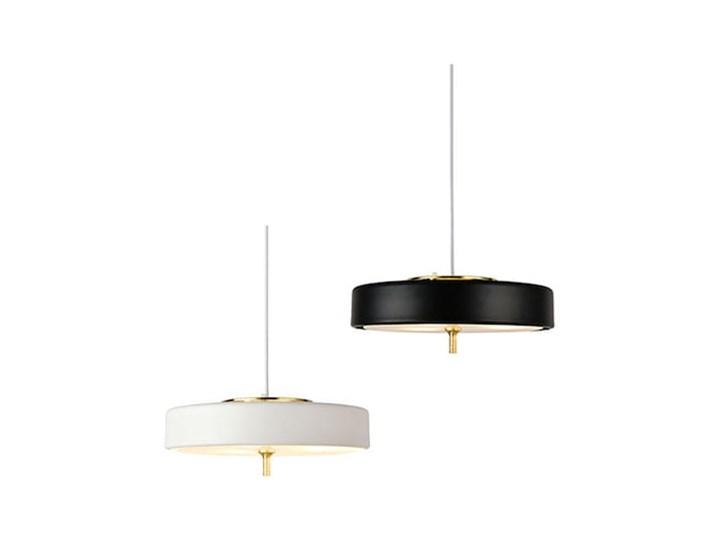 Art Deco 2000 - lampa wisząca czarna Tworzywo sztuczne Szkło Mosiądz Funkcje Brak dodatkowych funkcji Metal Lampa z kloszem Styl Nowoczesny