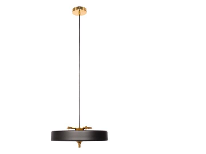 Art Deco 2000 - lampa wisząca czarna Mosiądz Tworzywo sztuczne Szkło Funkcje Brak dodatkowych funkcji Metal Lampa z kloszem Styl Nowoczesny