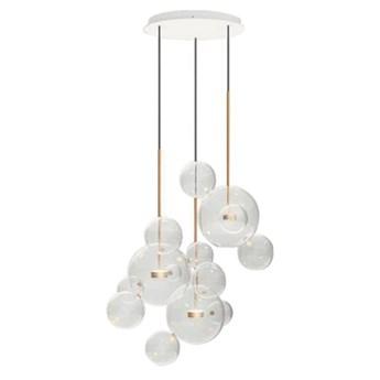 Bubble XL Round - potrójna lampa wisząca