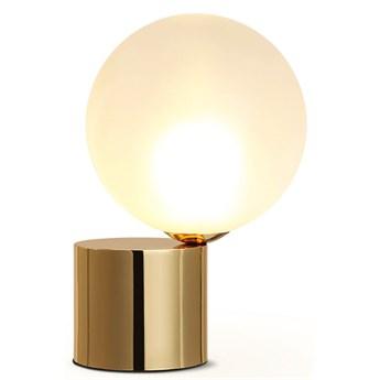 Ball at Barrel - Mleczna kula - lampa stołowa