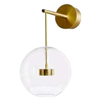 Bubble Wall - nowoczesny kinkiet - pączkujące szklane kule