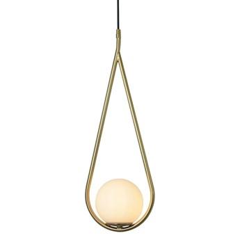 Droplet 1 Brass - nowoczesna lampa wisząca