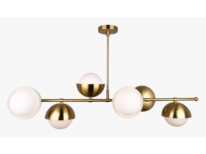 Brass Ionic - plafon kryształowy 60cm Mosiądz Metal Szkło Tworzywo sztuczne Lampa z kryształkami Lampa kula Funkcje Brak dodatkowych funkcji