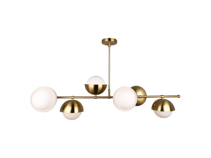 Brass Ionic - plafon kryształowy 60cm Tworzywo sztuczne Mosiądz Styl Nowoczesny Lampa kula Lampa z kryształkami Metal Szkło Kategoria Lampy wiszące