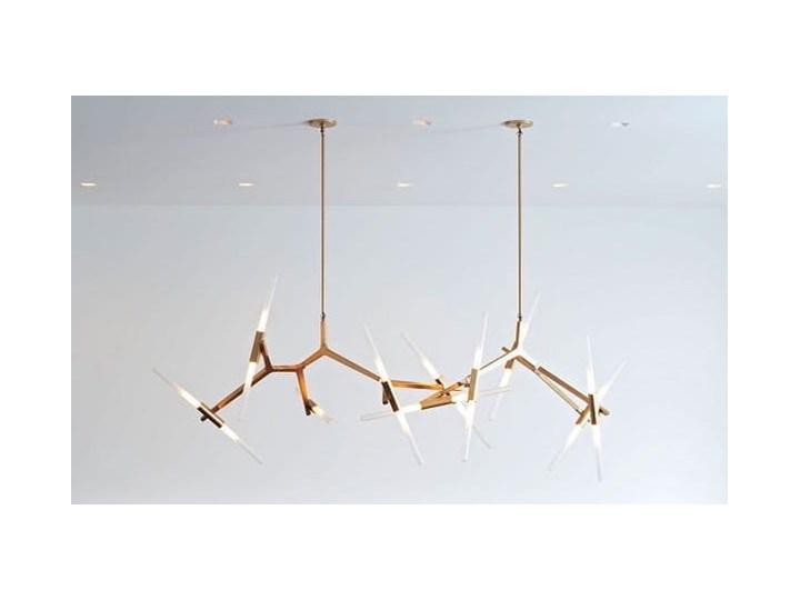 Structura gold - lampa nowoczesna Lampa inspirowana Szkło Metal Kategoria Lampy wiszące