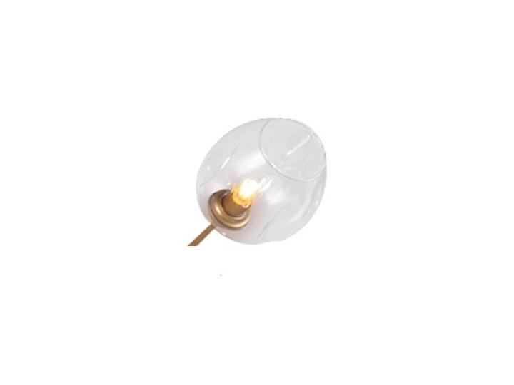 Chemistry gold - 6-punktowa nowoczesna lampa wisząca - różne klosze Lampa z kloszem Lampa inspirowana Metal Szkło Funkcje Brak dodatkowych funkcji Kolor Złoty