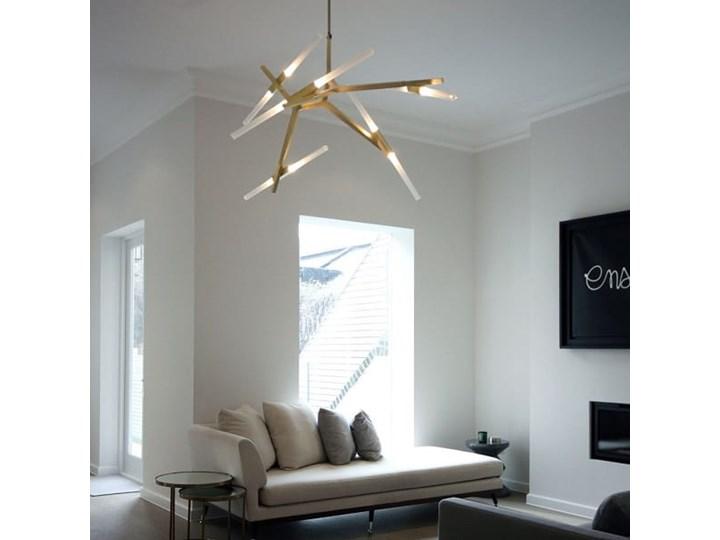 Structura gold - lampa nowoczesna Metal Kolor Złoty Szkło Lampa inspirowana Styl Nowoczesny