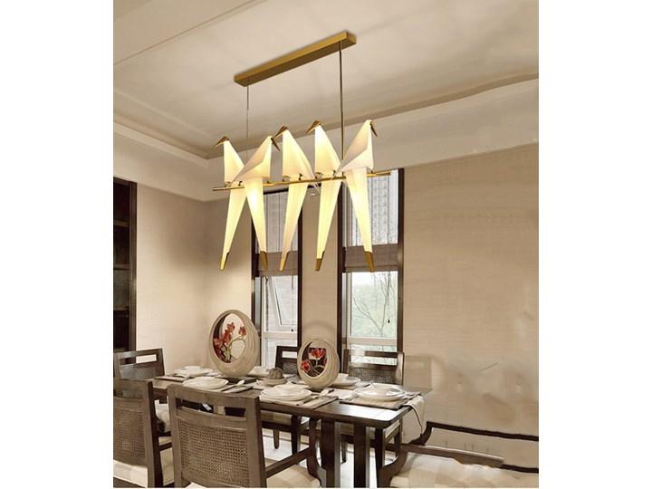 Ptaki - żyrandol nowoczesny Lampa inspirowana Metal Lampa z kloszem Tworzywo sztuczne Kategoria Lampy wiszące Stal Funkcje Brak dodatkowych funkcji