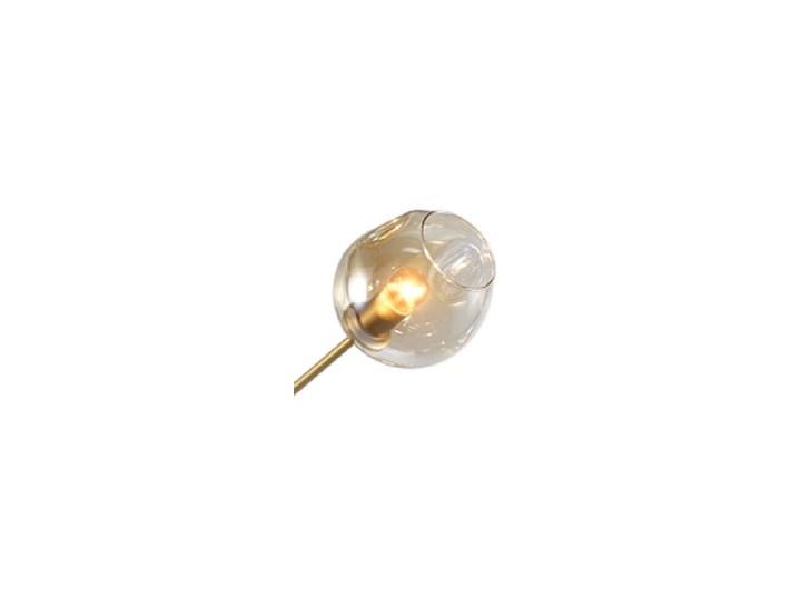 Chemistry gold - 6-punktowa nowoczesna lampa wisząca - różne klosze Lampa z kloszem Szkło Metal Lampa inspirowana Funkcje Brak dodatkowych funkcji Styl Nowoczesny
