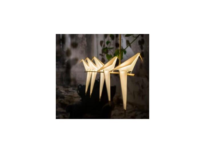 Ptaki - żyrandol nowoczesny Metal Lampa z kloszem Stal Tworzywo sztuczne Lampa inspirowana Kategoria Lampy wiszące