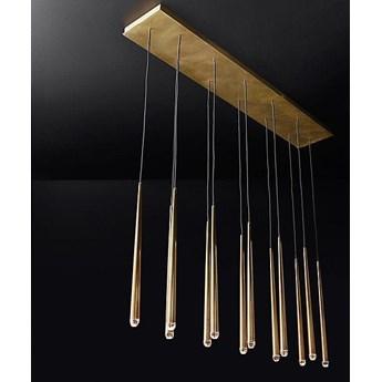 Brass Flute Row - lampa sufitowa rzędowa