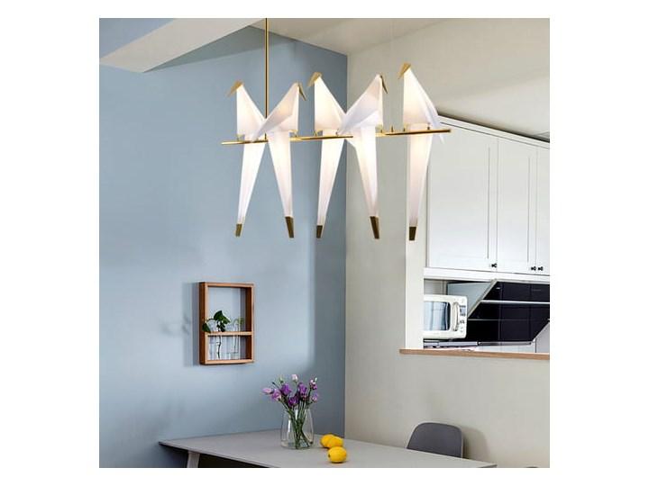 Ptaki - żyrandol nowoczesny Stal Lampa z kloszem Metal Lampa inspirowana Tworzywo sztuczne Funkcje Brak dodatkowych funkcji