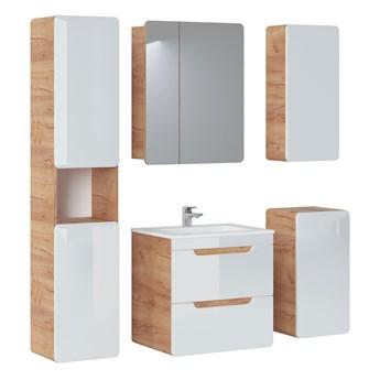 Zestaw mebli łazienkowych 60 cm Aruba z szafką z lustrem