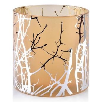 Świecznik szklany ODETTE SILVER 15xh15cm