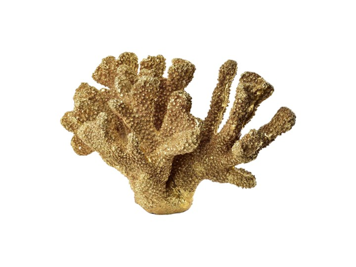 KORALOWIEC DEKORACYJNY ZŁOTY Kongo 32,8x15x17,7cm Rośliny Kategoria Figury i rzeźby