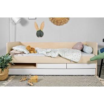 Leżanka dziecięca z szufladami i dodatkowym spaniem So Sixty 90x200