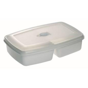 Pojemnik plastikowy PLAST TEAM Micro Twin 31040800 2.5 L Biały