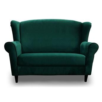 Skandynawska Sofa uszak BJORN : Wybierz tkaninę  - Butelkowa Zieleń Kronos 19