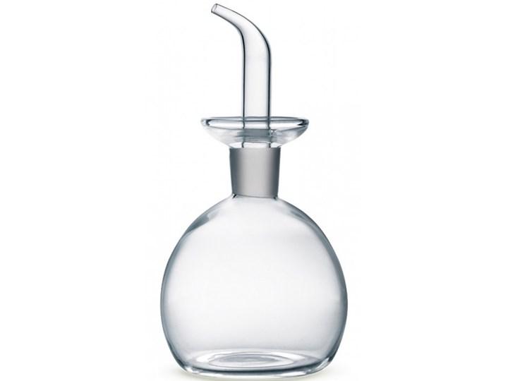 Butelka na oliwę, okrągła Giannini, 125 ml Szkło Pojemnik na ocet i oliwę Kategoria Przyprawniki