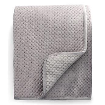 ZEMI Narzuta z wytłoczeniami szara 200x220 cm