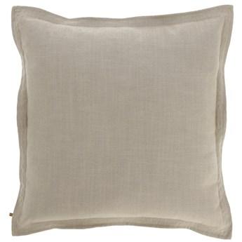 Poszewka na poduszke Maelina   60 x 60 cm bezowa