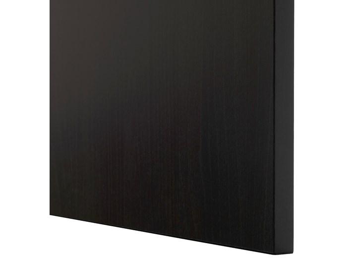 IKEA BESTÅ Kombinacja z drzwiami, Czarnybrąz/Lappviken/Stubbarp czarnybrąz, 180x42x74 cm Szerokość 180 cm Płyta MDF Głębokość 42 cm Wysokość 42 cm Z szafkami Pomieszczenie Pokój nastolatka