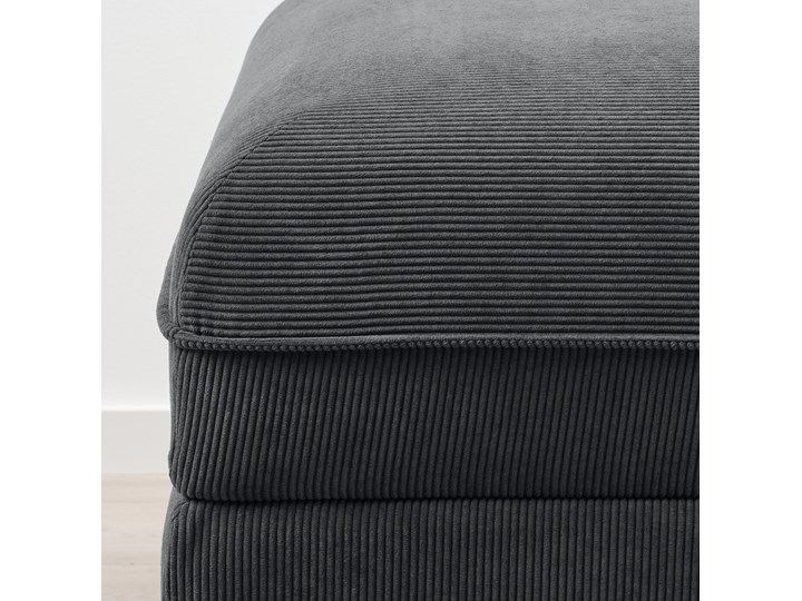 IKEA VALLENTUNA Moduł sofy rozkładanej, Kelinge antracyt, Szerokość: 80 cm Głębokość 100 cm Modułowe Pomieszczenie Pokój nastolatka