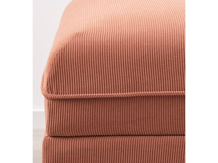 IKEA VALLENTUNA Moduł sofy rozkładanej, Kelinge rdzawy, Szerokość: 80 cm Modułowe Głębokość 100 cm Kolor Pomarańczowy