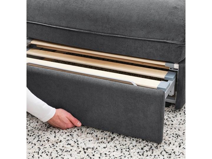 IKEA VALLENTUNA Moduł sofy rozkładanej z oparciem, Kelinge antracyt, Szerokość: 113 cm Boki Bez boków Modułowe Pomieszczenie Pokój nastolatka