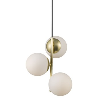 SELSEY Lampa wisząca Lilly x3 złota