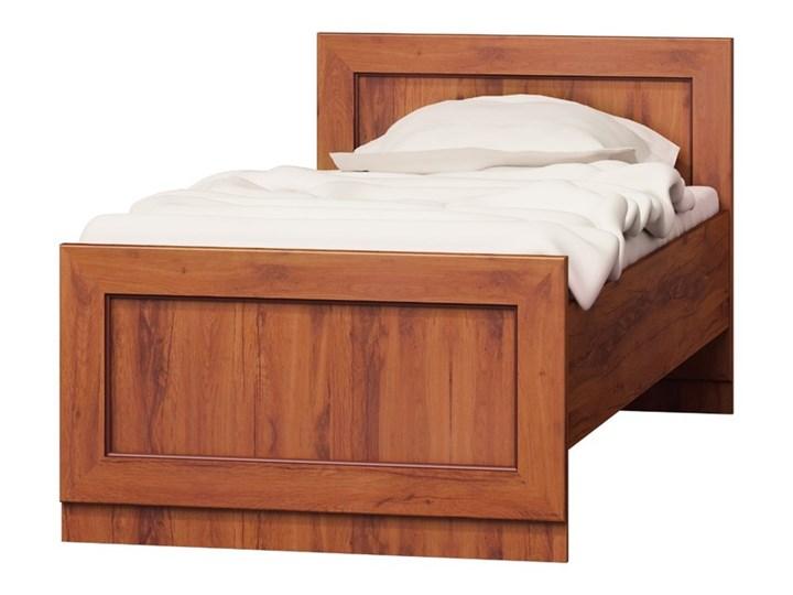 SELSEY Łóżko Tymbaroth 90x200 cm Kategoria Łóżka do sypialni Kolor Brązowy